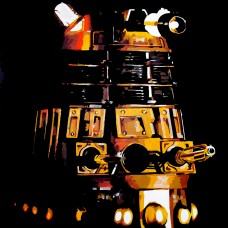 DOCTOR WHO - Gold Dalek